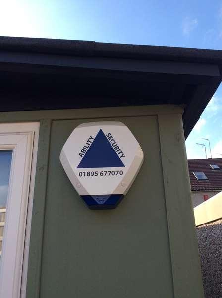 House Alarm Bell Box