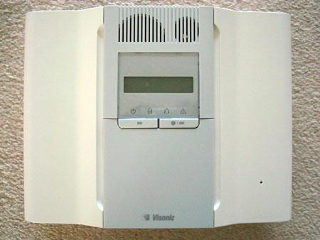 Visonic Wireless Alarm Panel